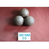 Quality 30mm Dia Hot Rolled Grinding Media Steel Balls for Mineral Processing and Cement Plant for sale