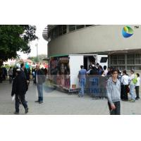 China Realistic Mobile 6D Cinema Simulator With Special Effects And Flat Screen wholesale