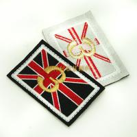 China Individual Iron On Backing Clothing Embroidered Patches Custom Design Skin Friendly wholesale