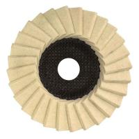 China glass grinding wheel finishing Resin Fiber Sanding Discs Flap Disc For Grinding Metal Size 100 X 16 MM wholesale