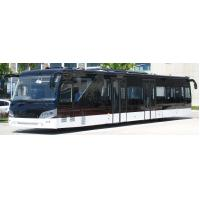 Quality 14M length 3m width luxury airport shuttles 110 passenger standing area for sale