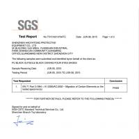 Shenzhen Haoyatong Protective Supplies Co., Ltd. Certifications