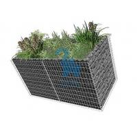 China Large Gabion Rock Baskets‎ , Retaining Wall Rock Cages With 10pcs Closing Ties wholesale