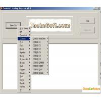 China Tachosoft Airbag Resetter V6.4 Auto Diagnostic Software Cover 450 Airbag ECU models wholesale
