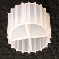 China White Color MBBR Filter Media With Virgin HDPE Material And Long Life Span For RAS wholesale