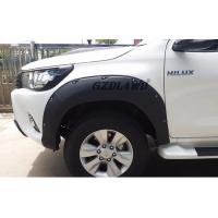China Hilux Revo Body Parts Wheel Arch Fender Trims / 4x4 Fender Flares For Toyota Pickup wholesale