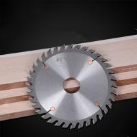 China Durable Sharpen TCT Saw Blade For Wood Grooving Natural Color LR+F Tooth wholesale