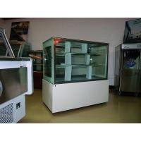 China Asia Hot Sale Luxury White Square Cake Display Freezer 1.8 meter Two Layers wholesale