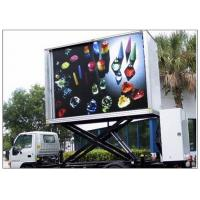 China 3 Sides Electronic Full Color Outdoor Message Boards ,  DIP346 LED Sdvertising Truck wholesale