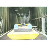 China Pneumatic Floor Recovery System Abrasive Blast Rooms , Alumimum Oxide Grit Blast Booth  on sale