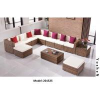 China 12piece -Modern Outdoor patio rattan wicker Sofa Sectional modular -201525 wholesale