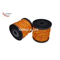 China 22SWG Q Fiberglass Thermocouple Type K Cable Chemical Resistance wholesale