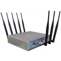 China Omni Directional Cell Phone Signal Jammer with UPS battery For Schools , 210*50*185mm wholesale