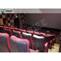 China Pnuematic 4DM Cinema System With Leather Fiberglass Motion Chair wholesale