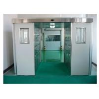 China Auto Sensing Clean Room Air Shower Tunnel For Person And Cargo Wind Speed 25m/S wholesale