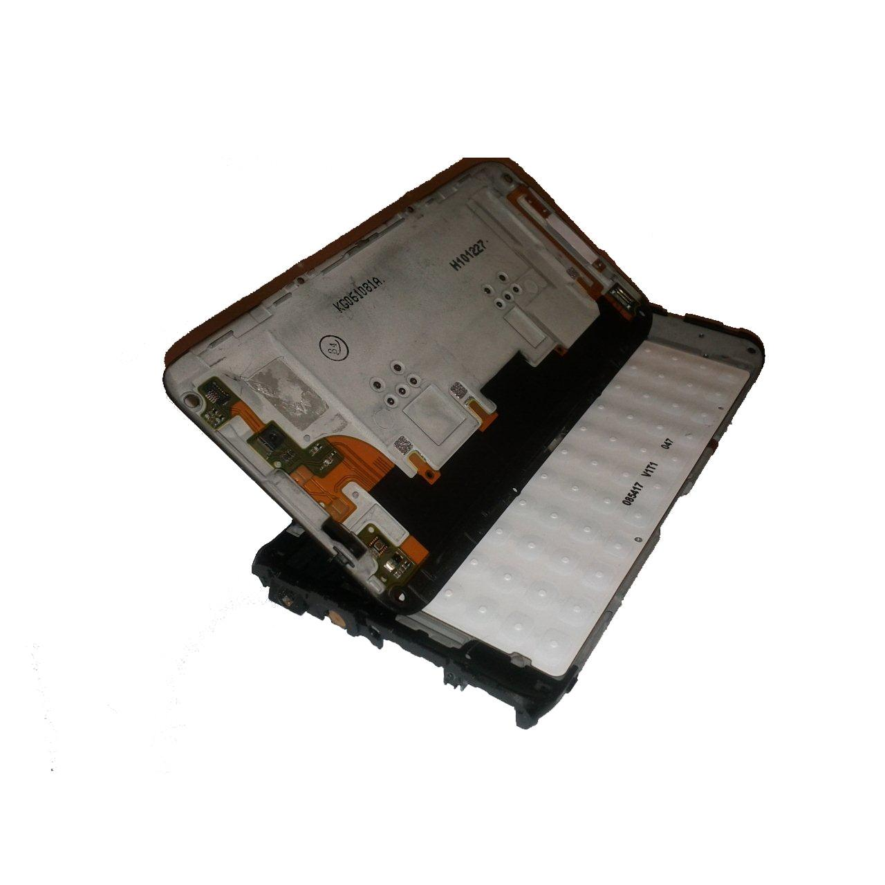 China NOKIA E7 MIDDLE HOUSING WITH KEYPAD BOARD AND CAMERA FLEX CABLE wholesale