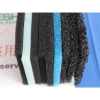 Quality Activated Carbon Filter Media 300g/m2 Air Filter Sponge Mesh Less Airflow for sale