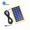 China 9V 3W solar panel photovoltaic for solar power system ZW-3W-9V-1 Glass Laminated Solar Panel wholesale