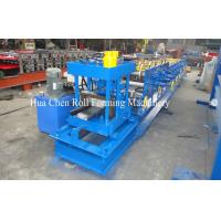 China Hydraulic cutting Galvanized Steel C Purlin Roll Forming Machine with CE wholesale