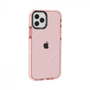 China Transparent Pink TPE Iphone11 Smartphone Protective Cases wholesale