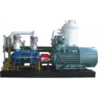China 9 Bar Water Injected Recycling Process Gas Screw Compressor , Rotary Screw Gas Compressor wholesale