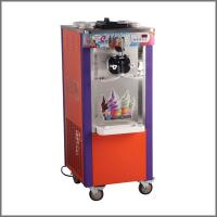 China 3 Flavors Soft Serve Ice Cream Making Machine With Stainless Steel 1 Year Warranty wholesale