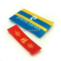 China 3D Raise Logo Heat Transfer Labels For T Shirts , Brand Tags For Clothing wholesale