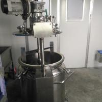 China 100L Vegan Gelatin Stainless Steel Tank With Stirring Function And Vacuum Pump wholesale
