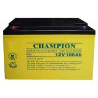 China China Champion Deep Cycle Battery 12V100AH NP100-12-G Sealed Lead Acid Solar GEL Battery on sale