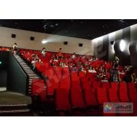 China 4D Movie Theater 4D Motion Cinema Seat 2Seats Spray Air, 55 Inch Or Customize wholesale