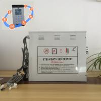 China Innovative White 12kw Steam Generator With Stainless Steel Tank and Water Level Probes wholesale