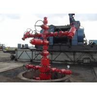 China Oil Well Christmas Tree Equipment , Gas Production / Oilfield Christmas Tree API 6A wholesale