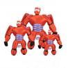 China Children Cartoon Plush Toys Big Hero 6 Baymax Mech Action Figure wholesale