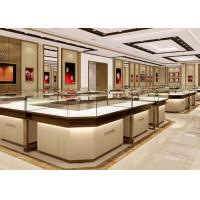 China Stable Structure Showroom Display Cases Easy Install For Jewelry Retail Store wholesale