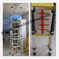 China Aluminium Telescopic and extension ladder&household ladder, wholesale