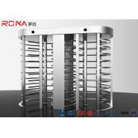 China Electronic Full Height Turnstile Security Entrance 30 Persons / Min Pass Speed wholesale