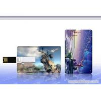Plastic USB Credit Card Flash Drive / Credit Card USB Storage Device