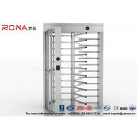 China High Security Full High Turnstile Access Control Use for Prison With Stainless Steel wholesale