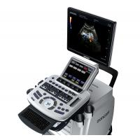 Touch Screen Veterinary Ultrasound Machine 256 Gray Scales High Performance