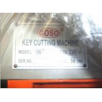 Quality 100F Double Head Table key Cutting Machine / Key Cutter for Sawtooth Keys, Angle for sale