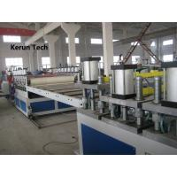 China Polycarbonate Hollow Shee t/ PC PP Hollow Sheet Making Extrusion Machine wholesale