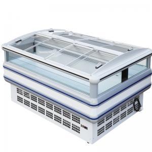 China Energy Efficiency Supermarket Island Freezer With Ample Space wholesale