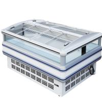 China Self Contained Supermarket Island Frost Free Freezer 90mm Thick wholesale