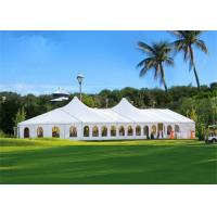 China Outdoor Aluminum Frame Tent 100 Km / H Wind Resisting Level CE Approved wholesale