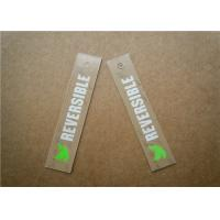 China Durable Personalized Knitting Labels , Custom Printed Fabric Labels wholesale