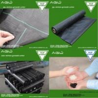 Buy cheap Factory supply 2017 black woven geotextile weed control mat for greenhouse from wholesalers