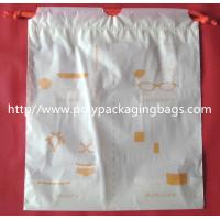 China Small Packaging Poly Bags , Drawstring Pouch Bags 2 Colors Gravure Printing wholesale