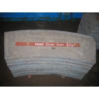 China Cement High Cr White Metal Casting Supplies End Liners For Mill wholesale