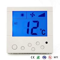 China Digital Temperature Control Fan Coil Thermostat Central Air Conditioner Controller on sale