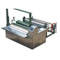 China High Speed 50hz Non Woven Cutting Machine Color Touch Screen Parameter wholesale